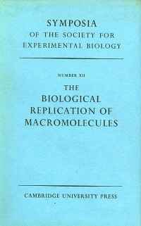 Image of THE BIOLOGICAL REPLICATION OF MACROMOLECULES