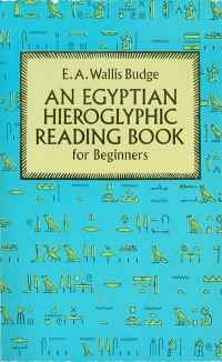 Image of AN EGYPTIAN HIEROGLYPHIC READING BOOK ...
