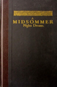 View A MIDSOMMER NIGHTS DREAME details