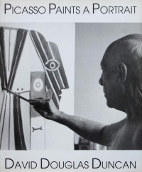 Image of PICASSO PAINTS A PORTRAIT