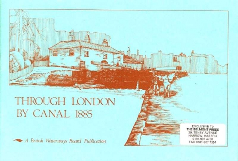Main Image for THROUGH LONDON BY CANAL 1885