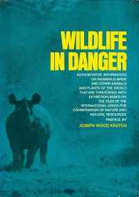 Image of WILDLIFE IN DANGER